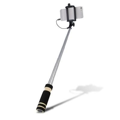 Setty Mini Selfie Stick Monopod με καλώδιο για Smartphones/Camera - Black