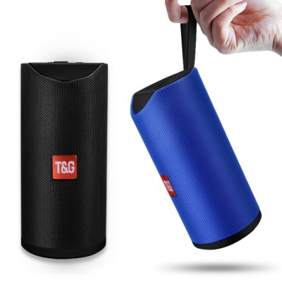 Ηχείο Bluetooth TG-113 Waterproof Stereo Outdoor Loudspeaker MP3 Bass Sound Box with FM Radio -Blue