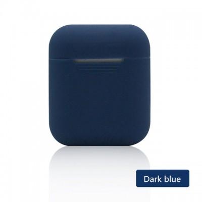 Θήκη Σιλικόνης AirPods -Dark Blue