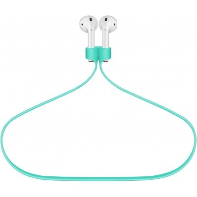 Magnetic Adsorption Anti-Lost Strap For Airpods 1/ 2 & Airpods Pro Sport Protective Silicone -Mint Green