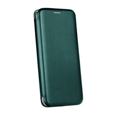 Θήκη Samsung Galaxy A20s  Soft TPU&PU Leather Flip  Βιβλίο Smart Magnet Elegance -Σκούρο Πράσινο