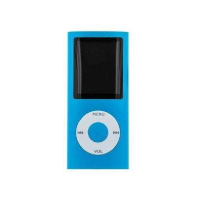 MP4 Player microSD & FM Radio (MP4-418) Μπλε