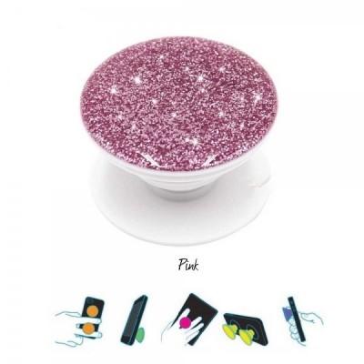 Pop Holder Glitter- Pink