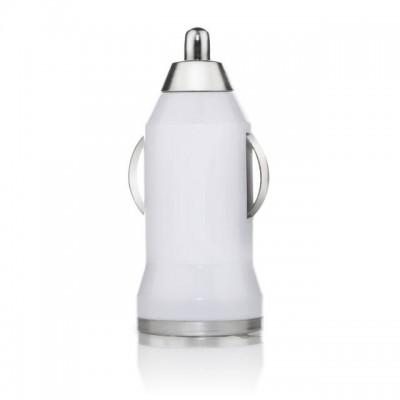 USB Car Charger  1A  -Λευκό