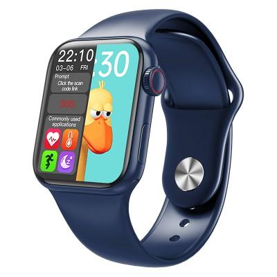Smart Watch HW-14 Full Touch Screen Sports Fitness -Blue