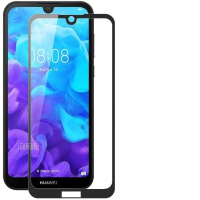 Huawei Honor 8S Αντιχαρακτικό Γυαλί 9H Tempered Glass 3D Full Face Curved Black