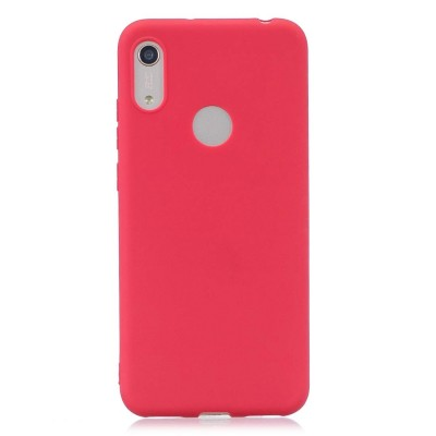 Θήκη Honor 8A Soft Cases  Silicone -Red