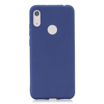 Θήκη Honor 8A Soft Cases  Silicone -Blue