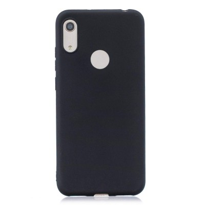 Θήκη Honor 8A Soft Cases  Silicone -Black