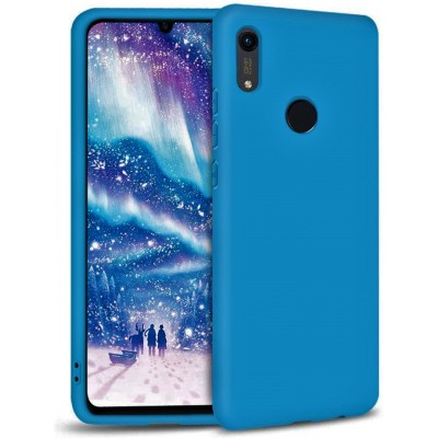 Θήκη Honor 8A Soft Cases  Silicone -Μπλε