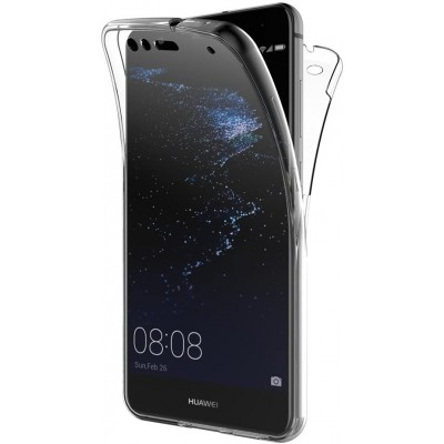 Huawei P10 Lite Θήκη 360 protection front and back full body- Διάφανη