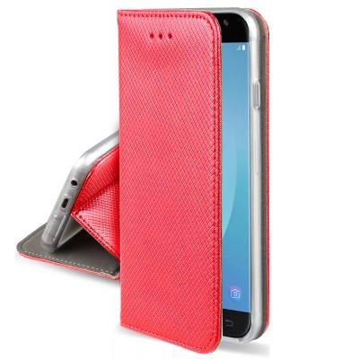 Θήκη Huawei Honor 10 Lite / P Smart 2019 Book Case με Δυνατότητα Stand Θήκη Πορτοφόλι -Κόκκινο