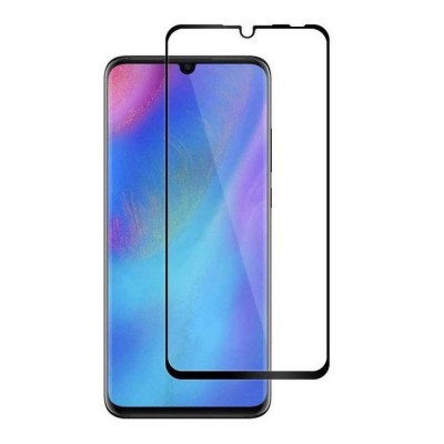Huawei P30 Αντιχαρακτικό Γυαλί 9H Tempered Glass  3D Full Face Curved Black