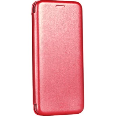 Θήκη Samsung Galaxy S20 Ultra Soft TPU&PU Leather Flip  Βιβλίο Smart Magnet Elegance -Κόκκινο