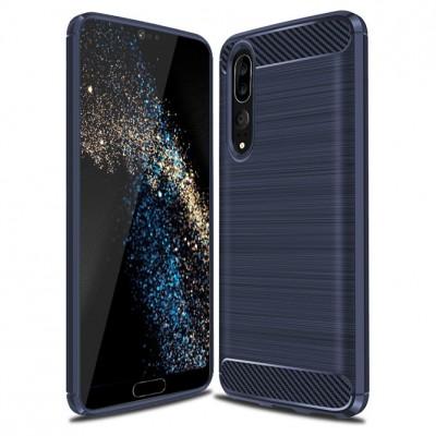 Θήκη Huawei P20 Carbon Fiber Brushed Case - Blue