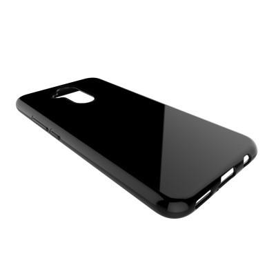 Huawei Mate 20 Lite Slim Fit Case Θήκη Σιλικόνης -Black