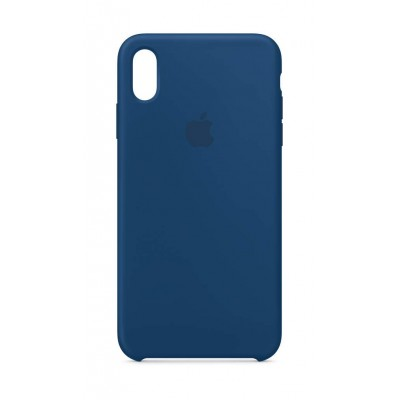 Premium Θήκη iPhone XS Max Σιλικόνης Soft Liquid Tpu -Blue