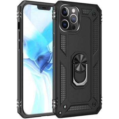 Θήκη iPhone 12 Pro Rugged Armor Cover -Black