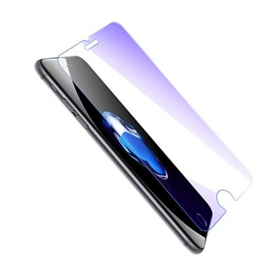Apple iPhone 6/ 6s Plus Curved Liquid UV Tempered Glass With UV NanoScale Light