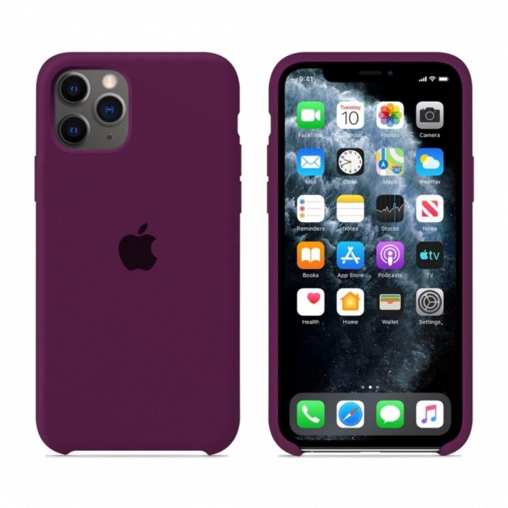 Premium Θήκη Apple iPhone 11 Pro Max Σιλικόνης Soft Liquid Tpu -Purple