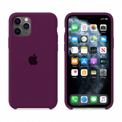 Premium Θήκη Apple iPhone 11 Pro Σιλικόνης Soft Liquid Tpu -Purple