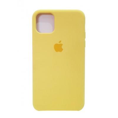 "Premium Θήκη Apple iPhone 12 Mini  5.4""  Σιλικόνης Soft Liquid Tpu -Κίτρινο"