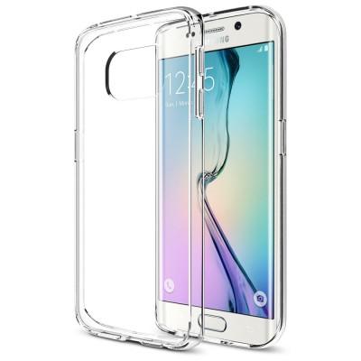 Θήκη Samsung Galaxy S6 Edge Ultra slim/πολύ λεπτή 0.3mm Tpu -Διάφανη/Clear