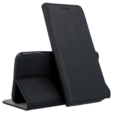 Θήκη Samsung Galaxy A41  Book Case με Δυνατότητα Stand Θήκη Πορτοφόλι -Black