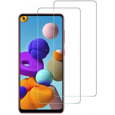 Samsung Galaxy A21s Γυάλινη Προστασία Οθόνης 0.30mm/2.5D Διάφανο
