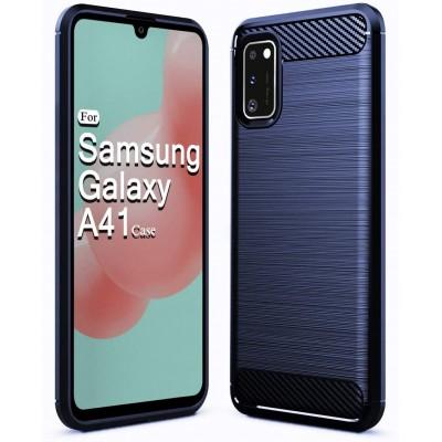 Θήκη Samsung Galaxy A41 Carbon Rugged Armor Case - Blue