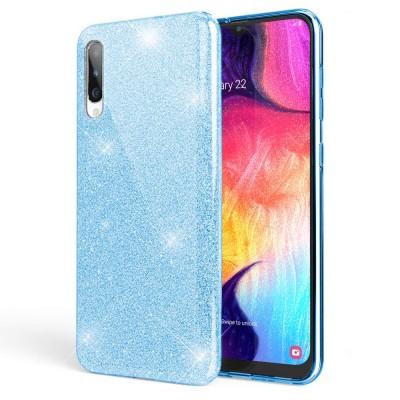 Θήκη Huawei Honor 20 / Nova 5T Glitter Shine Cover Hard -Γαλάζιο