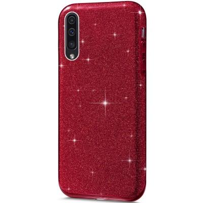 Θήκη Huawei Honor 20 / Nova 5T Glitter Shine Cover Hard -Κόκκινο