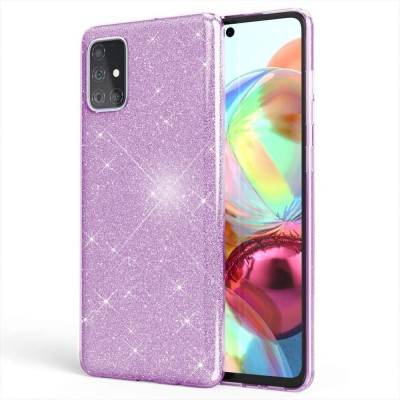 Θήκη Samsung Galaxy A31 Glitter Shine Cover Hard -Μωβ