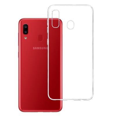 Samsung Galaxy A20 Θήκη Tpu Ultra Slim  -Διάφανο