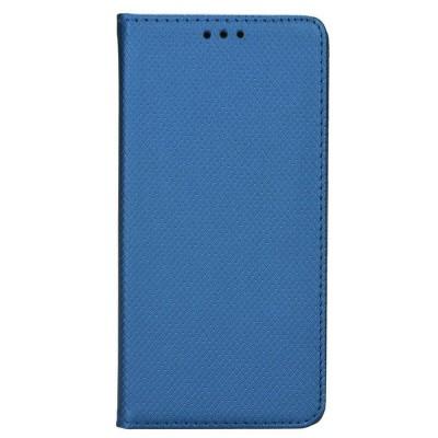 Θήκη Samsung Galaxy J4 Plus 2018 Smart Book Case με Δυνατότητα Stand Θήκη Πορτοφόλι -Μπλε
