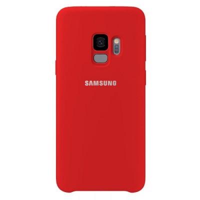 Premium Θήκη Samsung Galaxy S9 Σιλικόνης Soft Liquid Tpu -Red