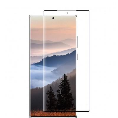 Samsung Galaxy Note 20 Ulrta Full Face Curved 3D Αντιχαρακτικό Γυαλί 9H Tempered Glass-Μαύρο