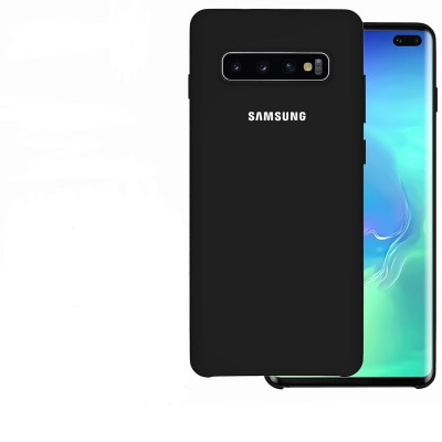Premium Θήκη Samsung Galaxy S10 Plus Σιλικόνης Soft Liquid Tpu -Black