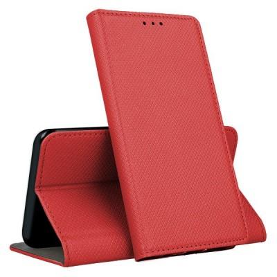 Θήκη Samsung Galaxy A41  Smart Book Case με Δυνατότητα Stand Θήκη Πορτοφόλι -Κόκκινο