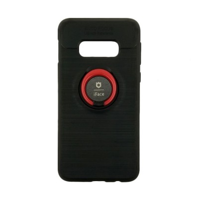 Θήκη Samsung Galaxy S10e iFace Back Cover Με Βάση Στήριξης  Μαύρο  -Κόκκινο