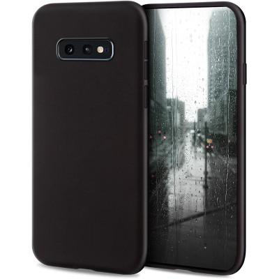 Θήκη Samsung Galaxy S10e  Soft Matt Case Gel Tpu Cover Silicone -Black