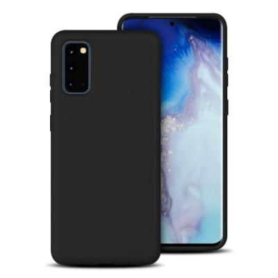 Θήκη Samsung Galaxy S20 TPU Silicone Case Matte -Black