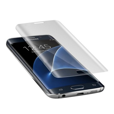 Samsung Galaxy S7 Edge Curved Liquid UV Tempered Glass With UV NanoScale Light
