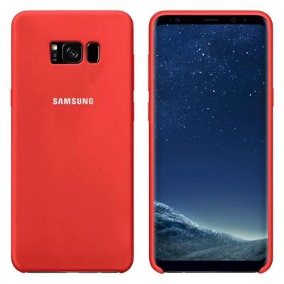 Premium Θήκη Samsung Galaxy S8 Plus Σιλικόνης Soft Liquid Tpu -Red