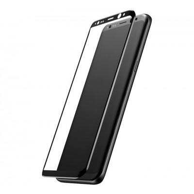 Samsung Galaxy S8 Plus Full Face Curved 5D Αντιχαρακτικό Γυαλί 9H Tempered Glass-Μαύρο