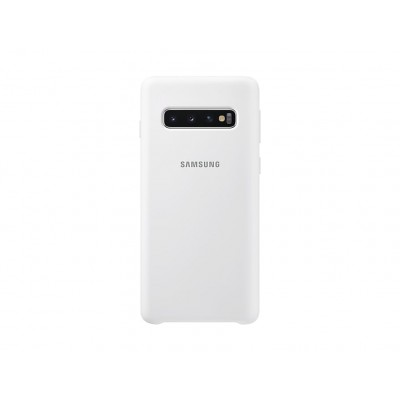 Premium Θήκη Samsung Galaxy S10 Σιλικόνης Soft Liquid Tpu -White