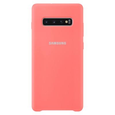 Premium Θήκη Samsung Galaxy S10 Σιλικόνης Soft Liquid Tpu -Peach Pink
