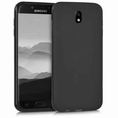 Θήκη Samsung Galaxy J7 2017 Σιλικόνης Tpu   -Black Matte