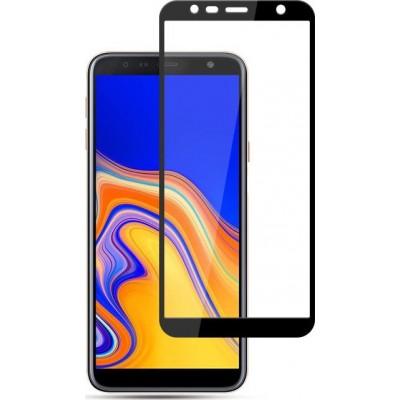 Samsung Galaxy J4 Plus 2018 Full Face Tempered glass / Αντιχαρακτικό Γυαλί Πλήρους Οθόνης 3D  Μαύρο