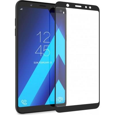 Samsung Galaxy J6 Plus 2018 Full Face Tempered glass / Αντιχαρακτικό Γυαλί Πλήρους Οθόνης 3D Μαύρο
